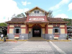 Estação ferroviária de São Lourenço. Foto: Francisco Aragão