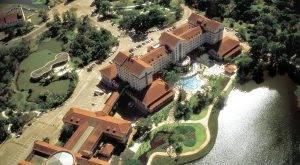 Vista aérea do Tauá Grande Hotel