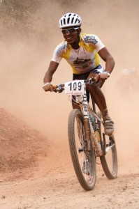 Frederico Nascimento Mariano venceu a etapa na categoria Superelite. Foto: Bruno Fernandes / Noispedala.com.br