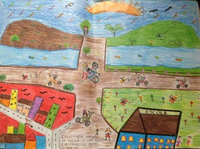Desenho de Iallithon Nathan da Silva de Araxá-MG