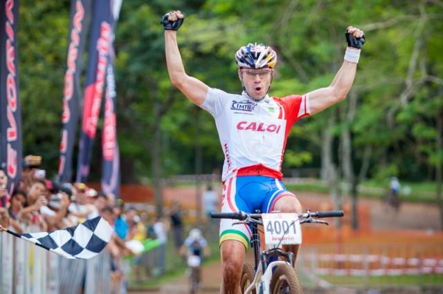 Henrique Avancini em Araxá (Crédito: Bruno Senna / CIMTB)