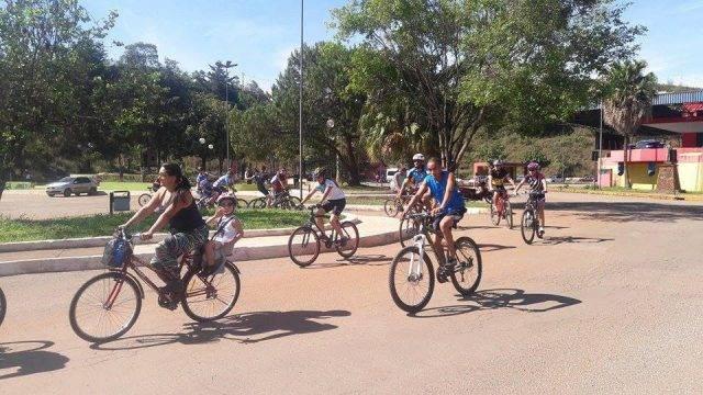 Passeio Ciclístico (Crédito: Prefeitura de Congonhas/Divulgação)