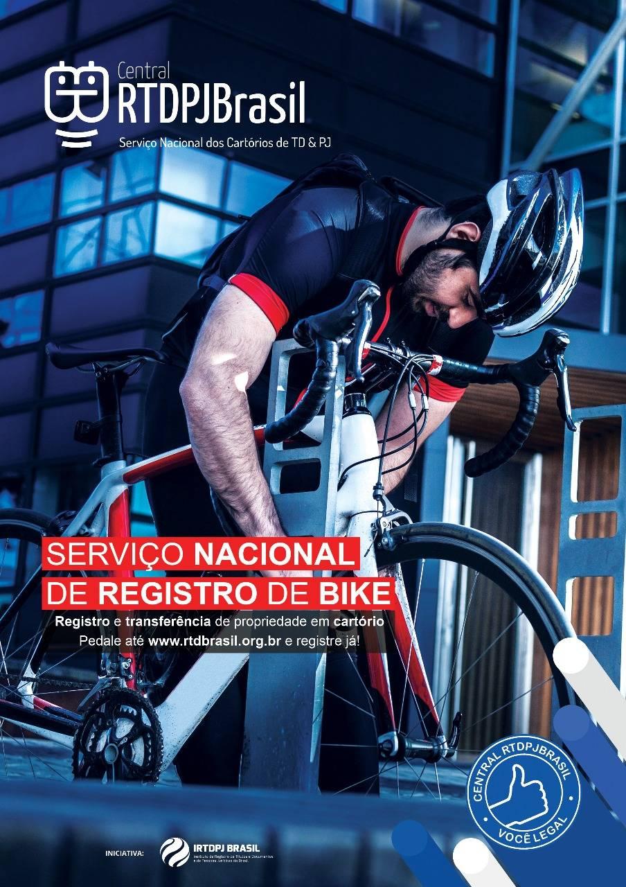 1ea785461 Registre sua bike em cartório na CIMTB Levorin