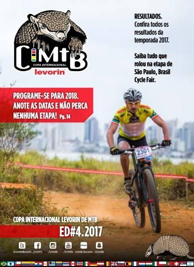 Última edição da revista digital CIMTB Levorin 2017 está disponível