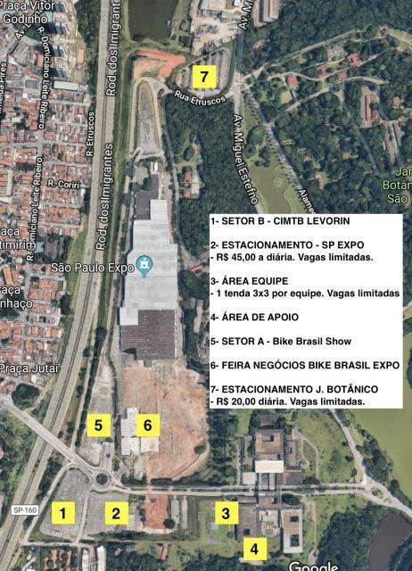 Confira o mapa da 3º etapa da CIMTB Levorin, no Bike Brasil