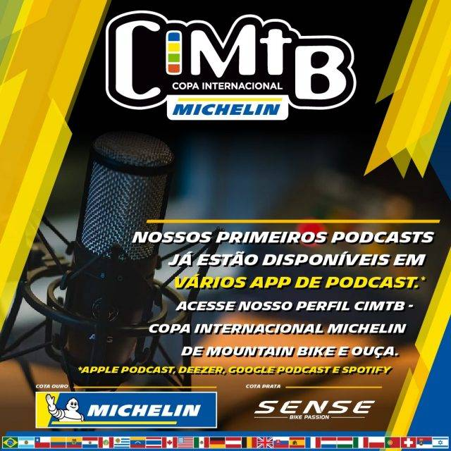 CIMTB Michelin lança Podcast do evento