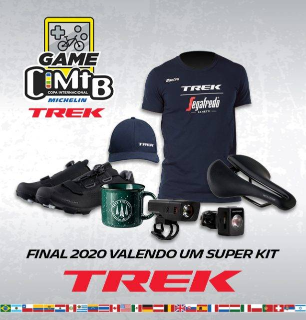 Copa Internacional de Mountain Bike e TREK estendem premiação do GAME CIMTB-TREK