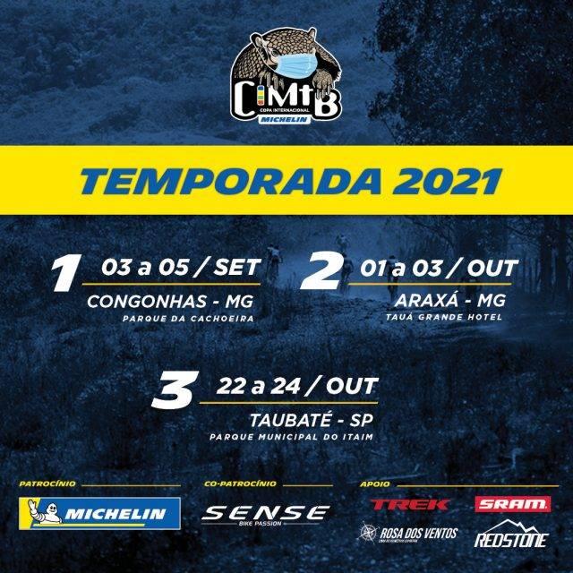 CIMTB Michelin define calendário da temporada 2021
