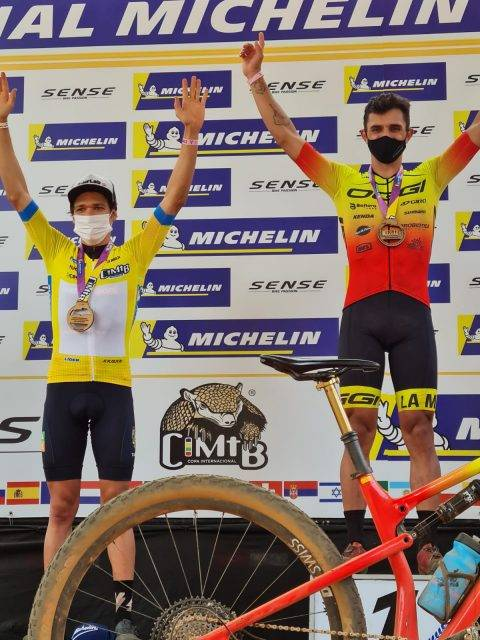 Isabella Lacerda e José Gabriel vencem o XCO da 1ª etapa da CIMTB Michelin 2021