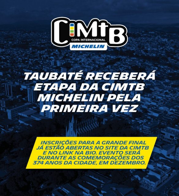 Taubaté receberá etapa da CIMTB Michelin pela primeira vez